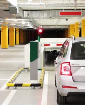 Sisteme për hapësira të  mëdha parkimi